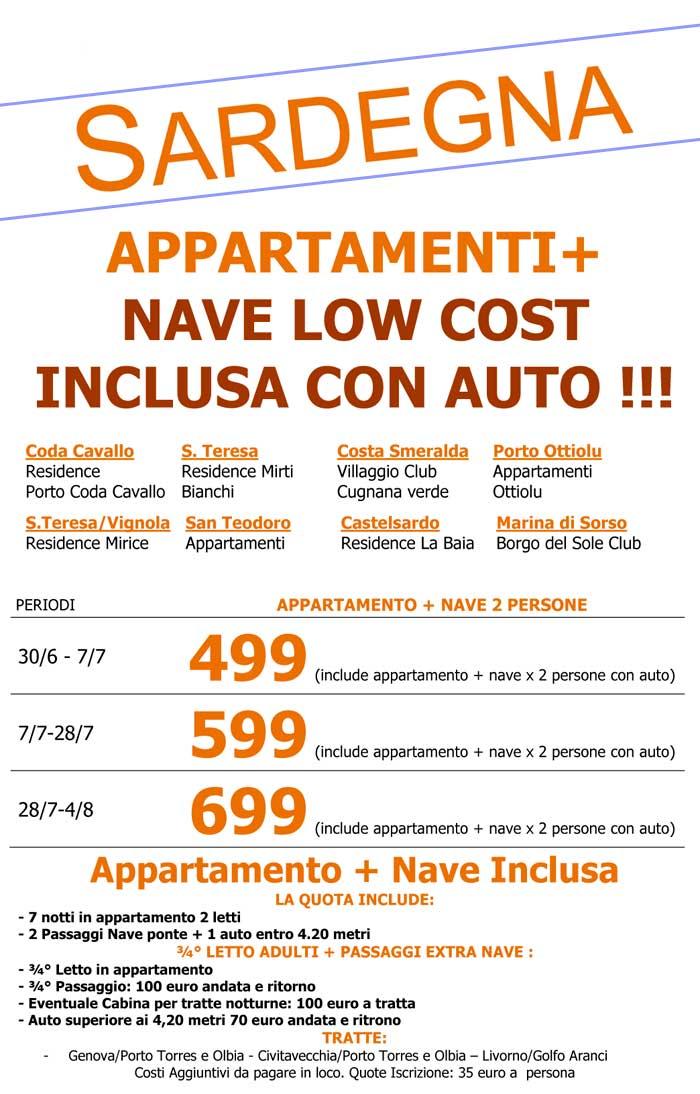 IT104 - Appartamenti in Sardegna