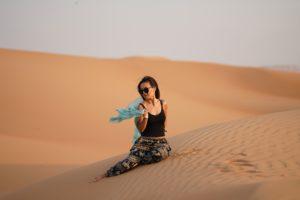 dubai, deserto
