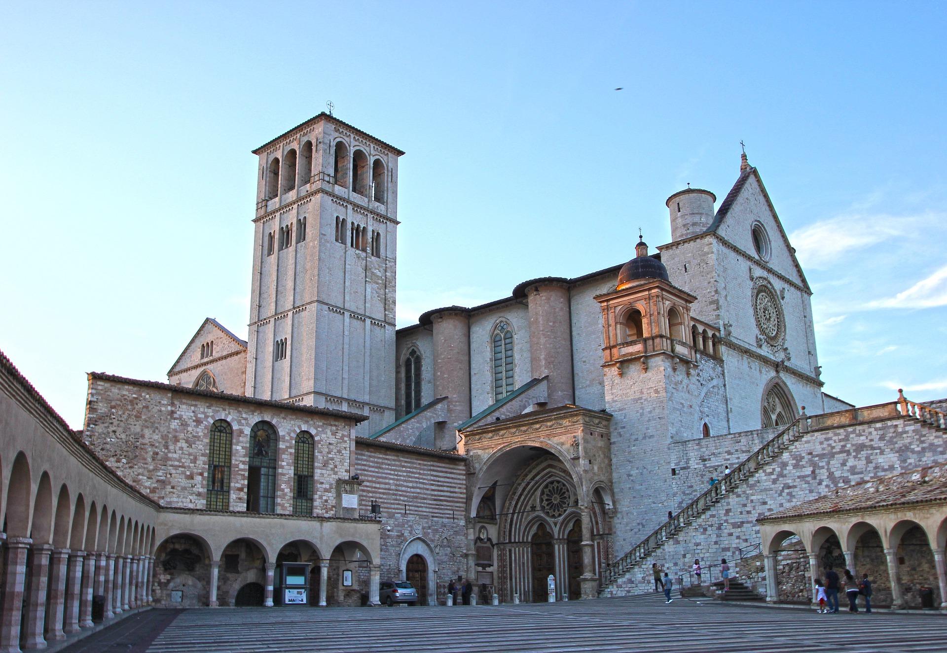 Assisi, Umbria, Basilica San Francesco