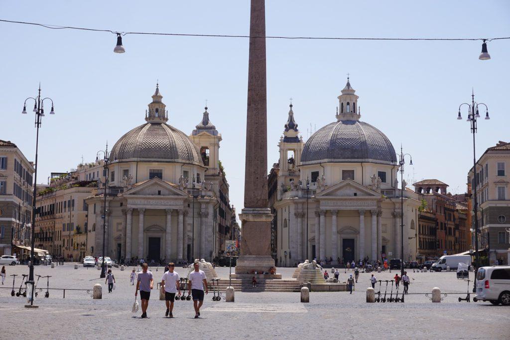 Roma, Piazza del popolo