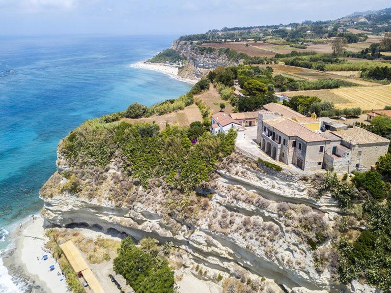 Panoramica spiaggia di Ricadi, Torre Marino, Capo Vaticano, prom